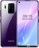 Oukitel C18 Pro Global Version 6.55 inch HD plus 4000mAh Android 9.0 16MP Quad Rear Camera Face Unlock 4GB 64GB Helio P25 4G Black